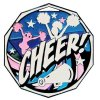 Cheerleader Medal Decagon Medal Awards
