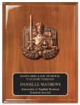 Walnut Piano Finish Plaque Achievement Awards
