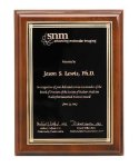 Walnut Piano Finish Corporate Plaque Achievement Awards