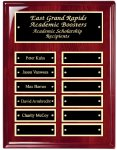 Perpetual Plaque Board with Heavy Lacquer Finish Achievement Awards