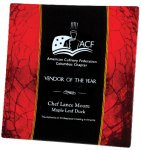Acrylic Red Plate Achievement Awards