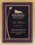 Shooting Star Rosewood Piano Finish Plaque Achievement Awards