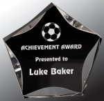 Black/Clear Luminary Star Acrylic Award Achievement Awards