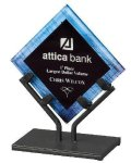 Acrylic Art Galaxy Award - Blue Artisan Acrylic Awards