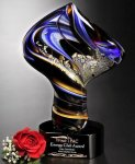 Golden Twist Glass Award Artistic Awards
