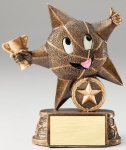My Lil' Star Basketball Resin Trophy  Basketball Trophy Awards