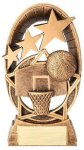Radiant Series Basketball Resin Trophy  Basketball Trophy Awards