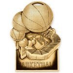 Basketball Standup Medal Basketball Trophy Awards