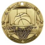 Basketball Medallion Basketball Trophy Awards