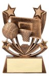 Twin Stars Basketball Award Basketball Trophy Awards