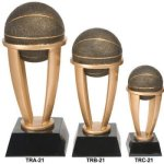 Basketball Tower Resin Basketball Trophy Awards