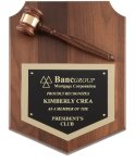 Deluxe Gavel Plaque Boss Gift Awards