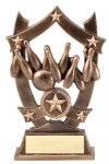 3D Sport Stars Bowling Bowling Trophy Awards