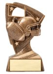 Stars Football Resin Award Bronze and Gold Star Resin Trophy Awards