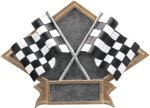 Racing Diamond Plate Resin  Car/Automobile Trophy Awards