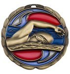 Swimming Medal Color Epoxy Medal Awards