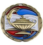 Scholastic Medal Color Epoxy Medal Awards