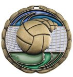 Volleyball Medal Color Epoxy Medal Awards