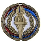 Victory Medal Color Epoxy Medal Awards