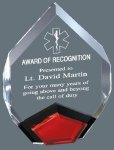 Acrylic Marquis Mirror Colored Acrylic Awards