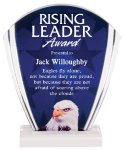 Eagle Full Color Acrylic Award Colored Acrylic Awards