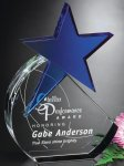 Cerulean Star Crystal Glass Awards
