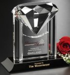 Opulence Award Crystal Glass Awards