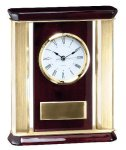 Mantle Clock Award Desk Clocks