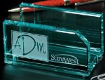 Business Cardholder Desk Wedge Name Plates