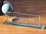 Executive Name Plate Desk Wedge Name Plates