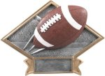 Football Diamond Plate Resin  Diamond Plate Resin Trophy Awards