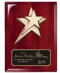 Rosewood Piano  Finish Plaque Eagle Awards