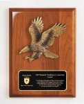 Walnut Piano Finish Eagle Plaque Eagle Plaques