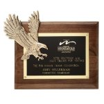 Soaring Eagle Plaque Eagle Trophy Awards