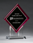 Digitally Printed Diamond Award Employee Awards