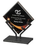 Acrylic Art Galaxy Award Employee Awards