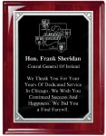 Plaque Board with Heavy Laquer Finish Employee Awards