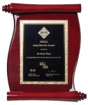 High Gloss Piano Finish Plaque Employee Awards