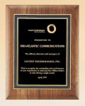 American Walnut Plaque Employee Awards