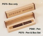 Tortoise Shell Finish Pen Executive Gift Awards