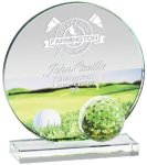 Glass Golf Award Golf Glass and Crystal Awards