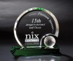 Round Hill Golf Glass and Crystal Awards