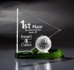 Windward Green Optical Crystal Awards