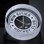 Hockey Puck Hockey Trophy Awards