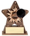 Star Burst Resin Hockey Hockey Trophy Awards