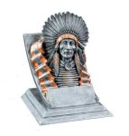 Indian Mascot Mascot Resin Trophy Awards
