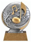 Motion X Music 3-D Motion X Action 3D Resin Trophy Awards