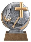 Motion X Religion 3-D Motion X Action 3D Resin Trophy Awards