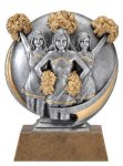 Motion X Cheerleader 3-D Motion X Action 3D Resin Trophy Awards