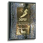 Wave Wall Plaque Piano Finish Plaques